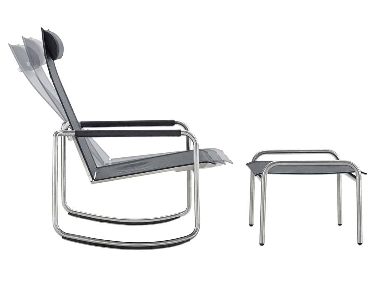 Jardin Rocking Deck Chair Solpuri