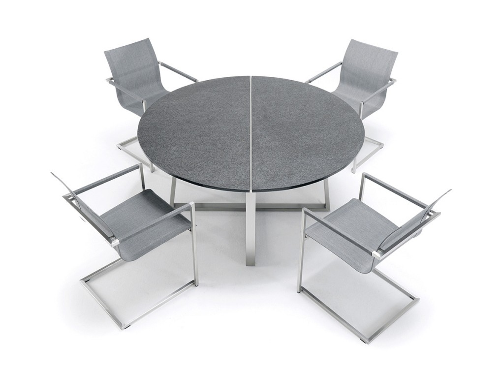 R-SERIES Dining Tisch - rechteckige Beine