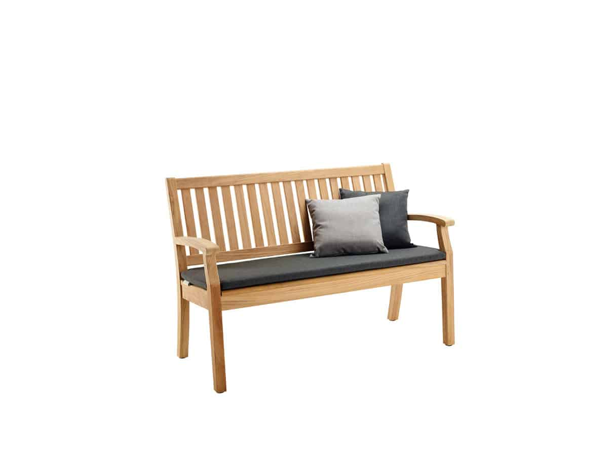 Windsor Bench With Arm And Back Small Solpuri